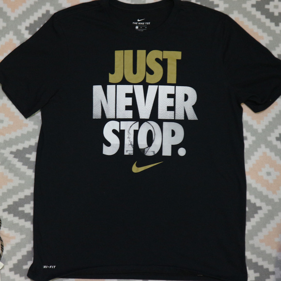 99412871 Nike Shirts | Just Never Stop Drifit Basketball Hoop Tee | Poshmark